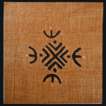 "Mud cloth orange<br><div class=""desc"">Orange mud cloth with geometric African design</div>"