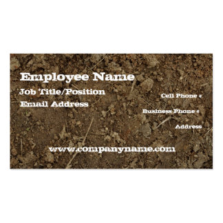 Mud Dirt Fill Business Card Template