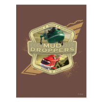 Mud Droppers Postcard