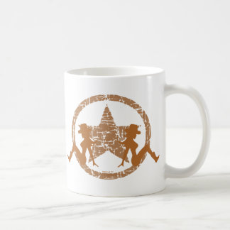 Mud Flap Cowgirls Brown Mugs