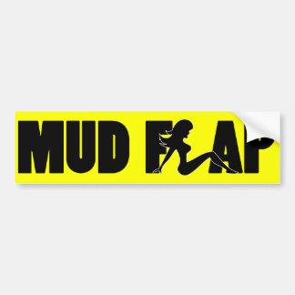 Mud Flap Girl B2 Bumper Sticker
