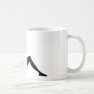Mud Flap Girl Basic White Mug