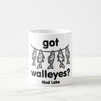 mud got walleye coffee mug