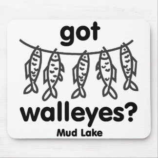 mud got walleye mousepads