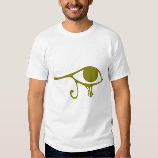 Mud Green Eye of Horus Tee Shirt