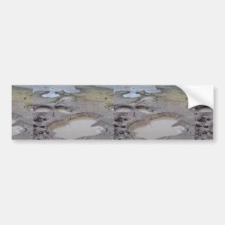 Mud holes, mud volcano bumper stickers
