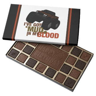 Mud in my Blood 45 Piece Box Of Chocolates