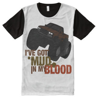 Mud in my Blood All-Over-Print Shirt