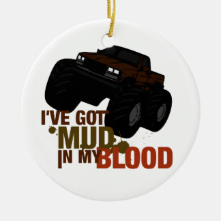 Mud in my Blood Christmas Tree Ornaments