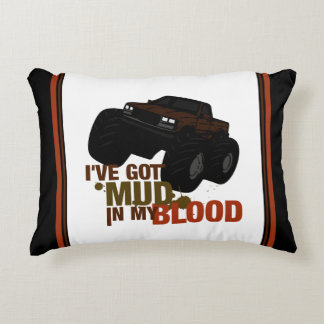 Mud in my Blood Decorative Pillow