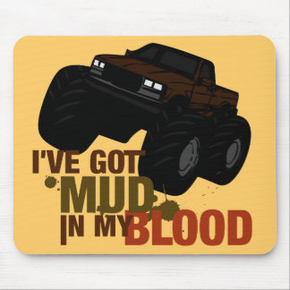 Mud in my Blood Mouse Pad