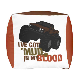 Mud in my Blood Pouf