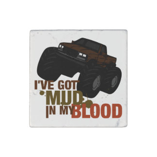 Mud in my Blood Stone Magnet