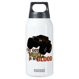 Mud in my Blood Thermos Water Bottle