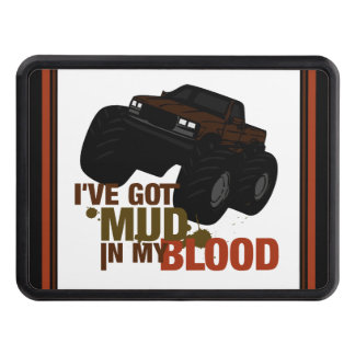 Mud in my Blood Trailer Hitch Cover