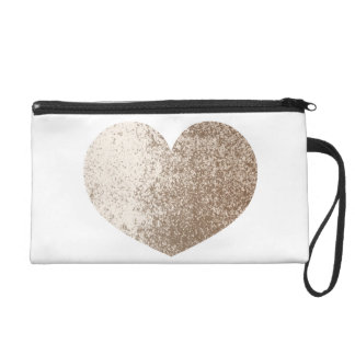 Mud Lover Brown and Ivory Splash Style Wristlet