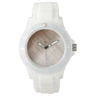 Mud Lover Light Brown and Ivory Wrist Watch
