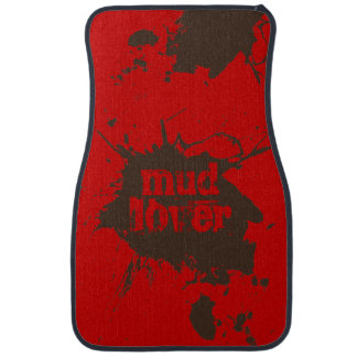 Mud Lover Off-Road 4-Wheelers Customizable Gift Car Mat