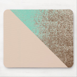Mud Lover Peach and Mint Splash Style Mouse Pad