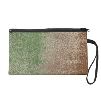 Mud Lover Splash Aged Green Paint +Pick Your Color Wristlet Clutches