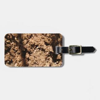 Mud Luggage Tag