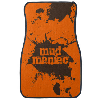 Mud Maniac Off-Road 4-Wheelers Customizable Gift Car Mat