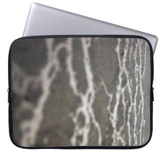 """Mud pattern 33"" laptop sleeve"