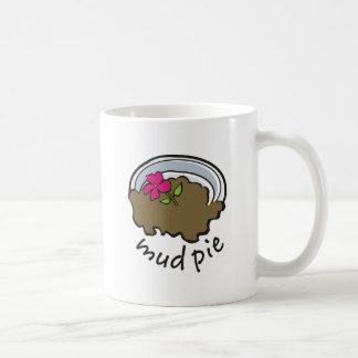 Mud Pie Classic White Coffee Mug
