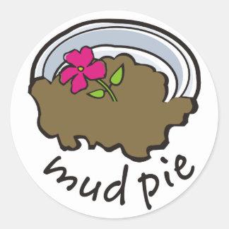 Mud Pie Classic Round Sticker