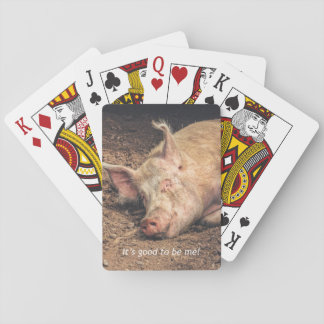 Mud Pig Playing Cards