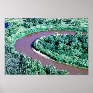 Mud River Meander Poster