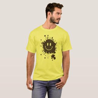 Mud Smiley Forrest Gump T-Shirt