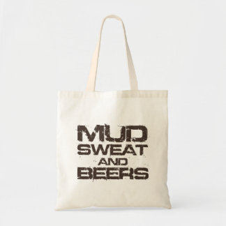 Mud Sweat and Beers Tote Bags