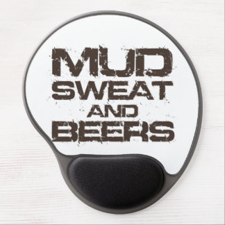 Mud Sweat and Beers Gel Mouse Pad