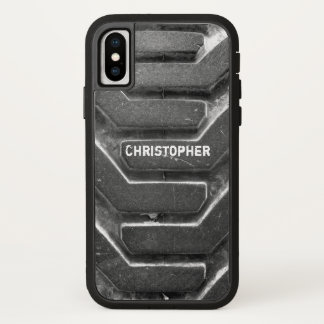 Mud Tire iPhone X Case