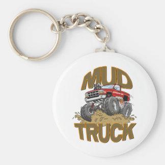 Mud Truck Chevy Keychain