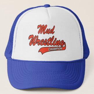 Mud Wrestling Champion Trucker Hat
