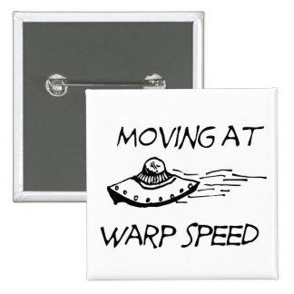 Mudanza a la velocidad de la deformación pin cuadrado