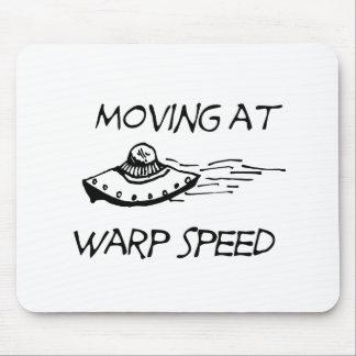 Mudanza a la velocidad de la deformación alfombrillas de raton