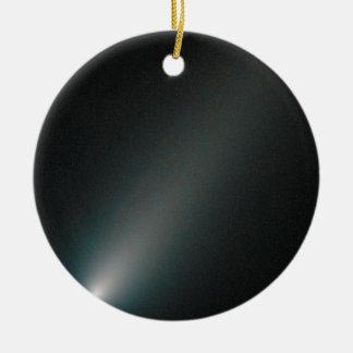 mudanza a través de espacio ornamento de navidad