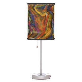 Mudanza adelante - de la lámpara de mesa de los co