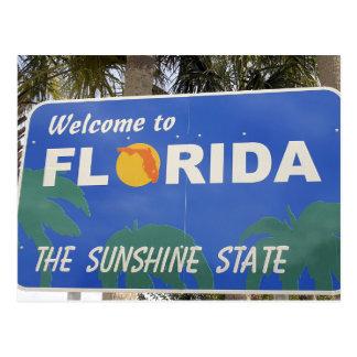 Mudanza al cambio del signo positivo de la Florida Postal