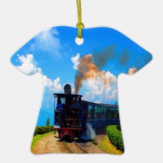 Mudanza al ferrocarril del vapor del tren del éxit ornamentos para reyes magos