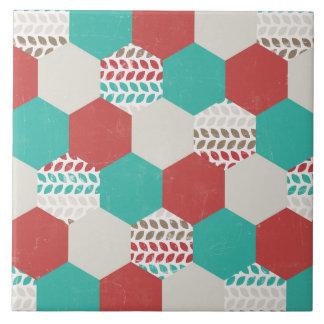 Mudanza de recogida soleada del bravo azulejo cuadrado grande