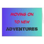 Mudanza encendido a la nueva tarjeta del adventure