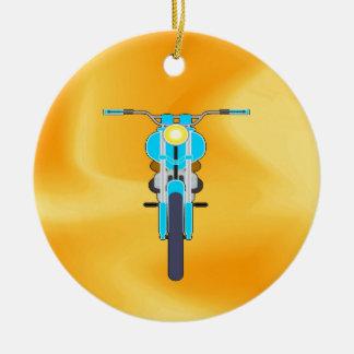 Mudanza para amar la moto del éxito adorno de navidad