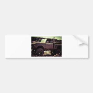 Mudbogging 4x4 Truck Bumper Sticker