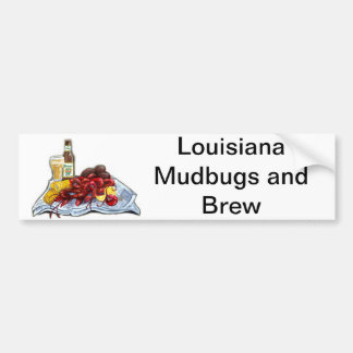 Mudbugs and Brew Bumper Sticker