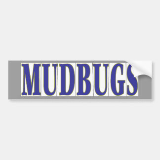 MUDBUGS en tejas azules Pegatina Para Auto