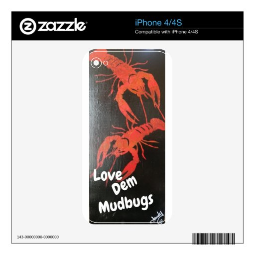 Mudbugs Skins For The iPhone 4